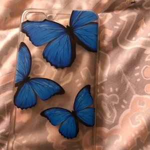 butterfly iphone 8 plus case